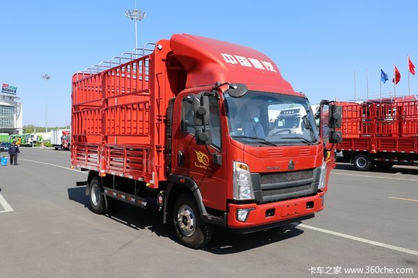 降价促销重汽豪沃王载货车仅售10.40万
