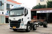 东风柳汽 乘龙H5中卡 270马力 6X2 9.7米排半翼开启厢式载货车(法士特8挡)(LZ5250XYKM5CB)