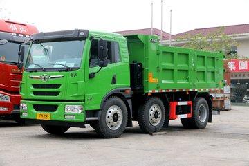 青岛解放 龙V 220马力 6X2 5.2米自卸车