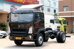 中国重汽HOWO G5X中卡 220马力 5.2米排半栏板载货车(国六)(ZZ1187K421DF1)