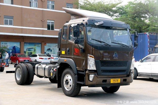 新车到店昆明重汽G5X6.8米载货车14.6万