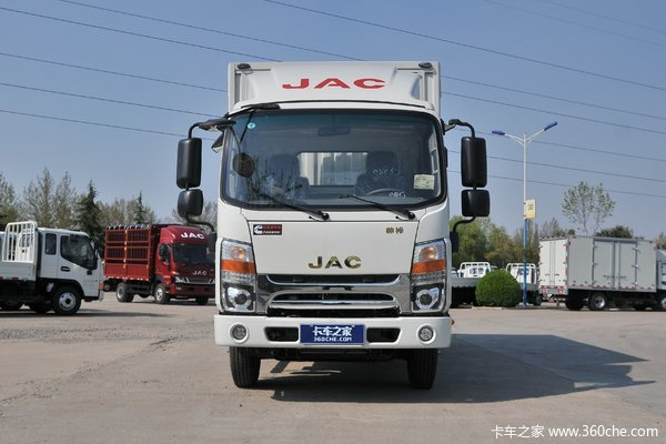 江淮 帅铃Q3 130马力 4.13米单排厢式轻卡(国六)(HFC5041XXYP73K1C7S)