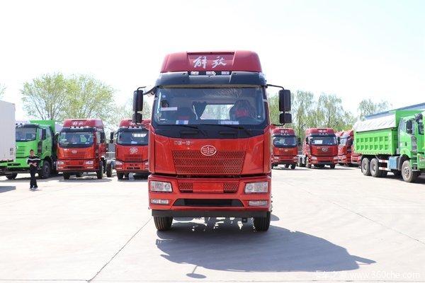 一汽解放 J6L中卡 180马力 4X2 6.8米栏板载货车(CA1160P62K1L4A1E5)