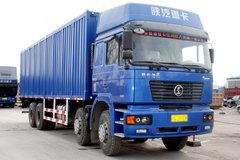 陕汽 德龙F2000重卡 336马力 8X4 厢式载货车(标准版)(SX5265XXYNT456) 卡车图片