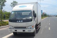 江淮 骏铃 110马力 3.8米排半厢式轻卡 卡车图片