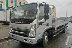 福田 奥铃新捷运 170马力 5.8米排半栏板轻卡(BJ1168VKJED-F1) 卡车图片