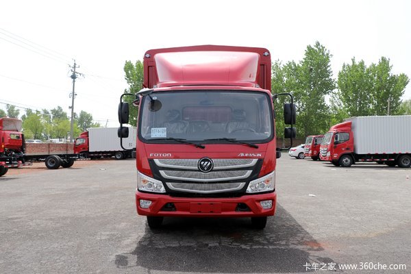 优惠0.5万宁波欧马可S1载货车旺季促销