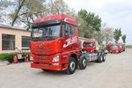 青岛解放 JH6重卡 400马力 8X4 9.5米仓栅式载货车(国六)(CA5310CCYP25K15L7T4E6A80)图片