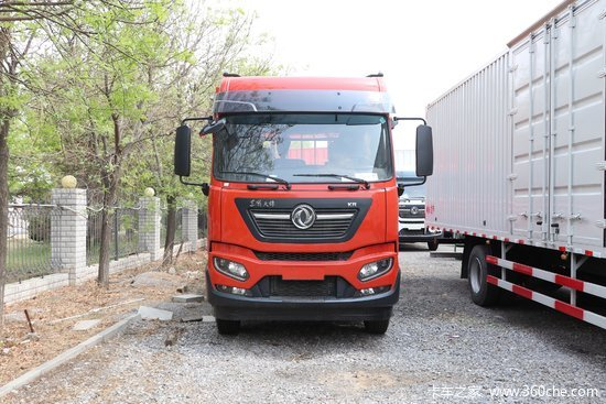 东风商用车 天锦KR中卡 245马力 6X2 9.8米载货车(高顶)(DFH1250BXV)