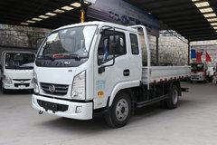跃进 福运X100-28 102马力 3.22米排半栏板轻卡(SH1042KBDBNZ2) 卡车图片