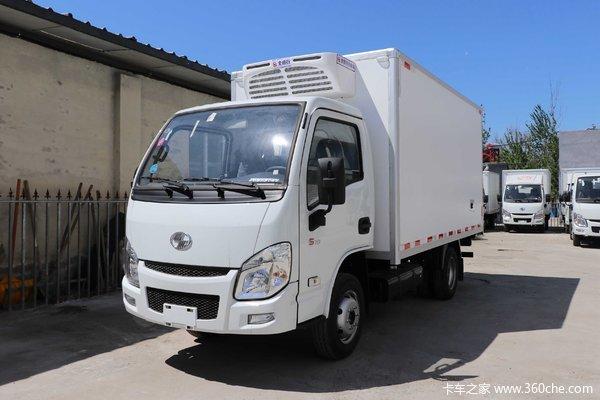 跃进 小福星S70 112马力 4X2 3.26米冷藏车