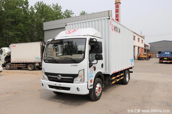 东风 凯普特K6-N 智悦版 140马力 4.09米单排厢式轻卡(EQ5046XXY5BDFAC)