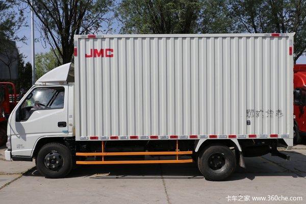仅售10.58万宁波森铃江铃顺达厢车促销
