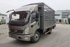 现代商用车 致道500M 重载版 156马力 4.165米单排仓栅轻卡(CNJ5041CCYQDA33V) 卡车图片