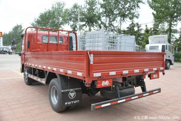 福田 欧马可S1系 轻量化版 156马力 4.17米单排栏板轻卡(BJ1048V9JD6-F3)