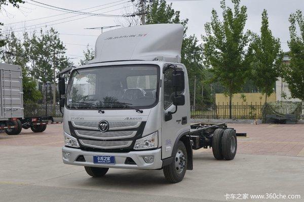 福田 欧马可S1系 150马力 4.14米单排厢式轻卡