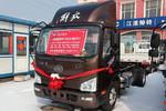 解放 J6F 160马力 4X2 5.4米冷藏车(CA5120XLCP40K2L4E5A84)