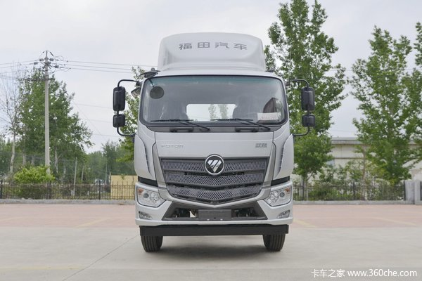 福田 欧航R系 180马力 6.8米厢式载货车(BJ5166XXY-A1)
