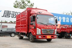 唐骏欧铃 K3系列 110马力 4.15米单排仓栅式轻卡(ZB5042CCYJDD6V) 卡车图片