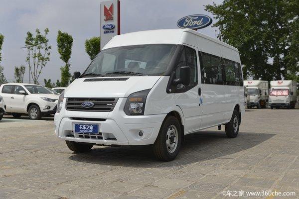 江铃汽车 新世代全顺 140马力 7座 2.2T 商务车(国六)
