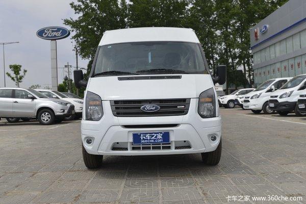 江铃汽车 新世代全顺 140马力 17座 2.2T 低顶普通型客车