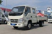 福田时代 小卡之星Q2 1.5L 114马力 汽油/CNG 3.05米双排栏板微卡(BJ1032V4AV5-DB)