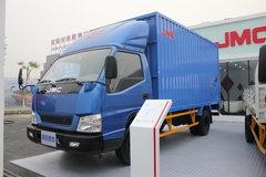 江铃凯锐 116马力 4米单排厢式轻卡(宽体) 卡车图片