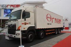广汽日野 700系列重卡 380马力 8X4 9.6米厢式载货车(YC5310XXYFY2PY) 卡车图片