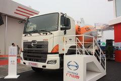 广汽日野 700系列 350马力 8X4 搅拌车(YC5310GJBFY2PU)