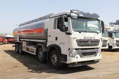 中国重汽 HOWO T5G 340马力 8X4 铝合金运油车(醒狮牌)(SLS5320GYYZ6)