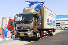 福田 奥铃大黄蜂 210马力 6.1米排半厢式载货车(BJ5166XXY-A3) 卡车图片