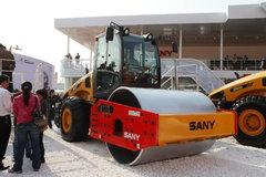 三一 SMR222机械式单钢轮压路机