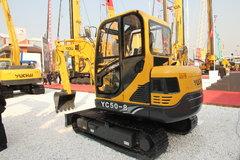 玉柴 YC50-8履带液压挖掘机