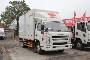 江铃 新款顺达窄体 116马力 4.21米单排厢式轻卡(国六)
