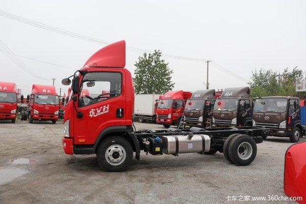 北京地区优惠0.5万虎V载货车促销中