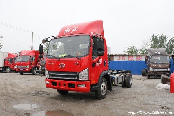 解放 虎VH 160马力 4.16米单排厢式轻卡(7挡)