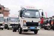 中国重汽HOWO 追梦 经典款 116马力 4.165米单排栏板轻卡(ZZ1047F3315E145)