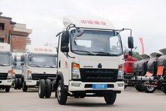 中国重汽HOWO 悍将 追梦版 116马力 4.165米单排栏板轻卡(ZZ1047F3315E145) 卡车图片
