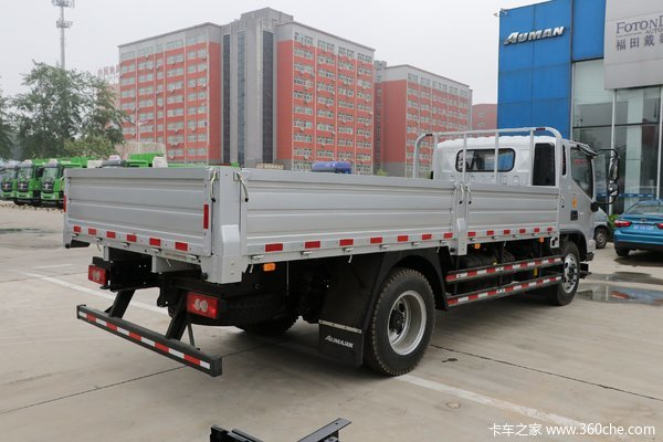 福田 欧马可S3系 156马力 3.83米排半栏板轻卡(国六)(BJ1088VEJEA-F3)