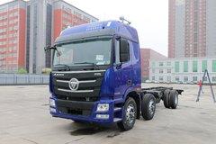 福田 欧曼GTL 6系重卡 280马力 6X2 9.53米栏板载货车(BJ1209VKPKP-AA) 卡车图片