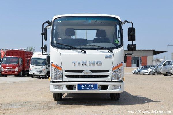 货箱长4.13米,130马力汽油车,唐骏金利卡轻卡报价5.68万