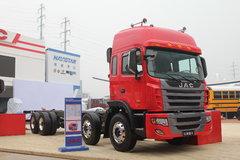 江淮 格尔发K3系列重卡 270马力 8X4 9.5米载货车(底盘)(HFC1311P2K4H45F) 卡车图片