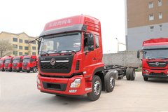 东风商用车 天龙重卡 245马力 6X2 9.6米栏板载货车(DFH1250AXV) 卡车图片