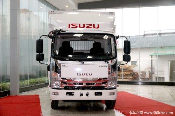 降价促销五十铃M100载货车仅售13.58万