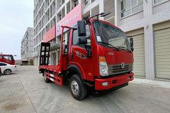 中国重汽成都商用车(原重汽王牌) 捷狮 190马力 4X2 平板运输车(CDW5160TPBA1R6)