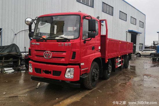 三环十通 昊龙 220马力 8X2 7.6米栏板载货车(STQ1319L14Y3A5)
