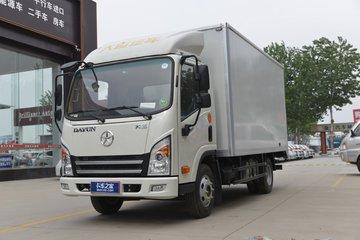 大运 新奥普力 启梦版 116马力 4X2 4.12米单排厢式轻卡(CGC5048XXYHDC33E)