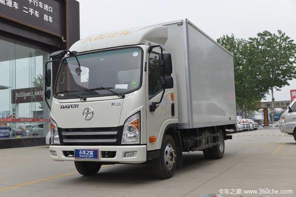 大运 新奥普力 启梦版 116马力 4X2 4.12米单排厢式轻卡