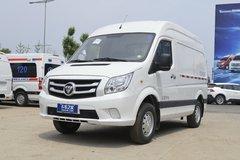 福田商务车 图雅诺E 110马力 4X2 冷藏车(BJ5038XLC-V1)