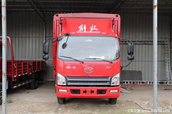 解放 虎VN 110马力 4.2米单排栏板载货车